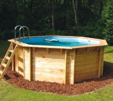 Van Kuik Zwembaden: opzetbaden en houten baden